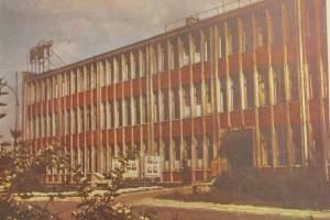 Budynek Główny RWT, lata 1960-67.