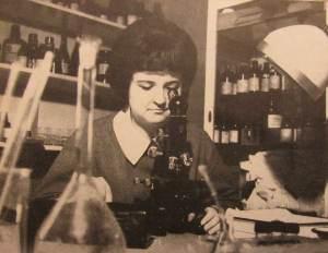 Laboratorium chemiczne  RWT, lata 1964-66.