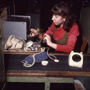 Pracownica RWT, styczen 1969