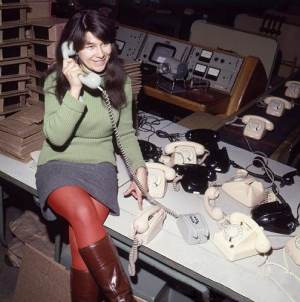 Pracownica RWT, 1969