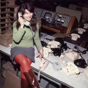 Pracownica RWT, czerwiec 1969