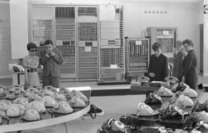Czerwiec 1969, Międzynarodowe Targi Poznańskie, wystawa telefonów