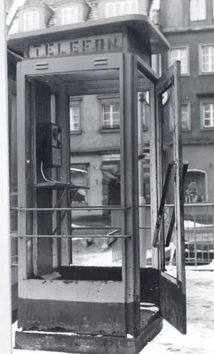 1981, aparat AW-7 (wówczas nowość) przy pl. Solnym, Wrocław