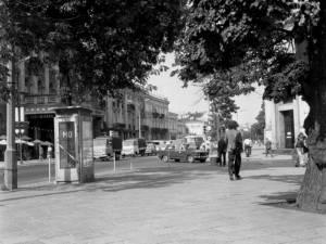 Budka MO, Lublin. Wewnątrz CB-49