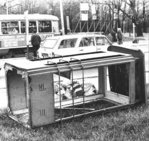 Poznań, lata 80. Dewastacja.
