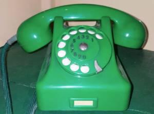 Telefon CB-59 zielony