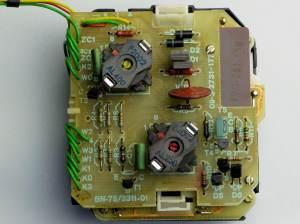 Klawiatura DTMF KWF-02 (wczesna wersja na elementach LC)