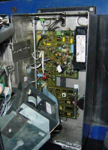 Urmet TPE-97 po otwarciu - płyta gł.